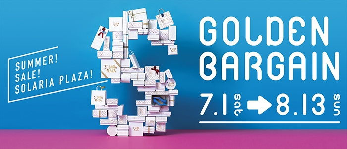 Golden sale