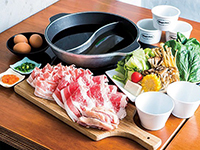 All-you-can-eat Tajima shop liking beef shabu-shabu beef