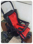 In the stroller use