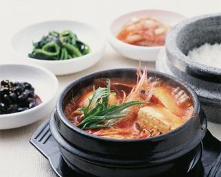 Korean food bibimu