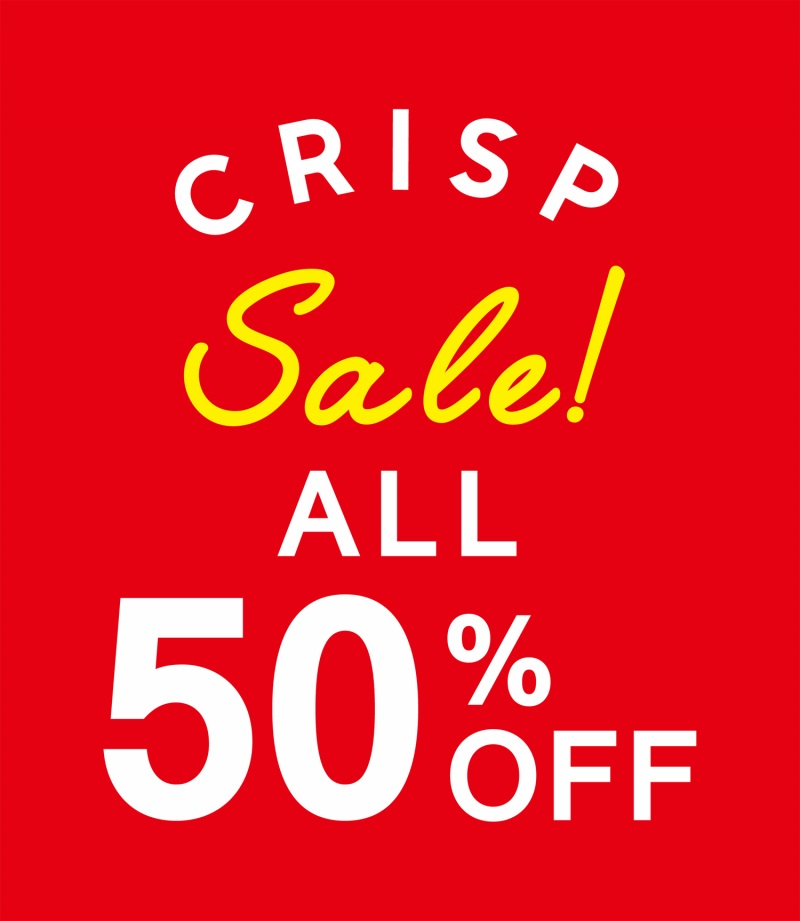 sale all 50%off!