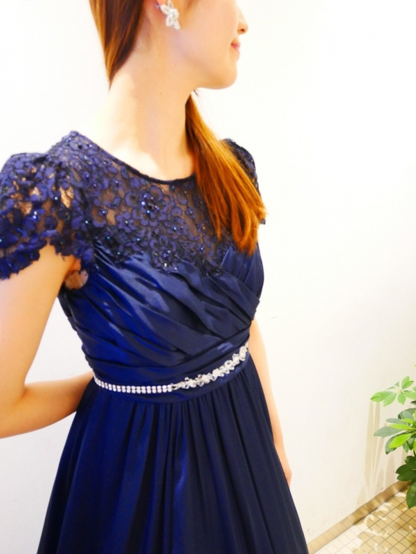 NEW COLOR LONG DRES☆