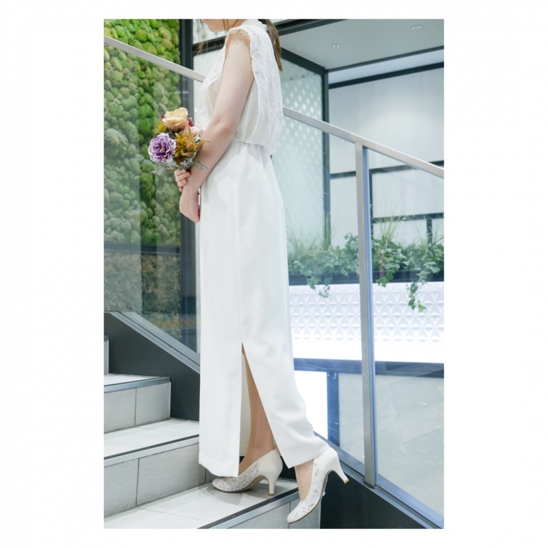 〜OffWhite  Dress〜