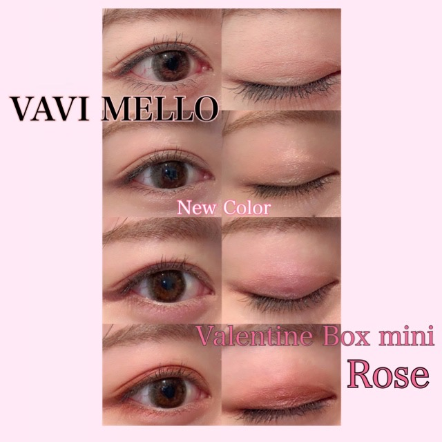 Valentine box mini-Rose