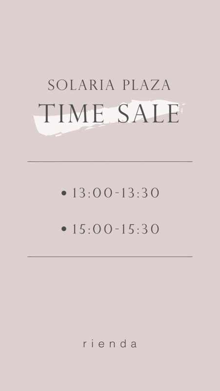 Special time sale [Sumire]