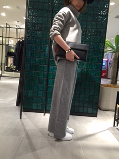 ☆knit wide pants☆