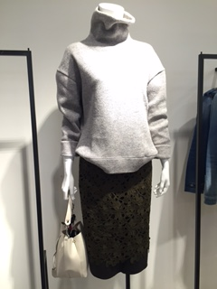 ☆cocoon knit bonding highneck PO☆